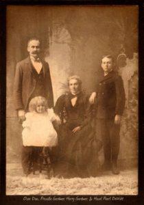 Osee Dan Dewitt, Hazel Pearl Dewitt, Priscilla A. Gardner, Harry G. Dewitt