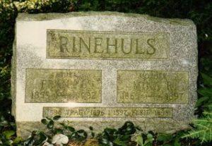 Rinehuls Headstone
