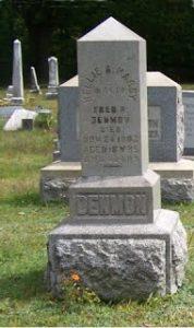 Denmon Headstone