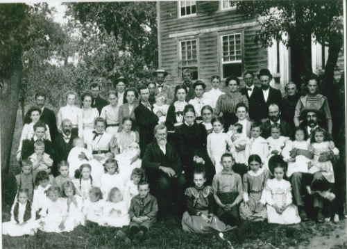 James Kelly Evans 1901 Reunion