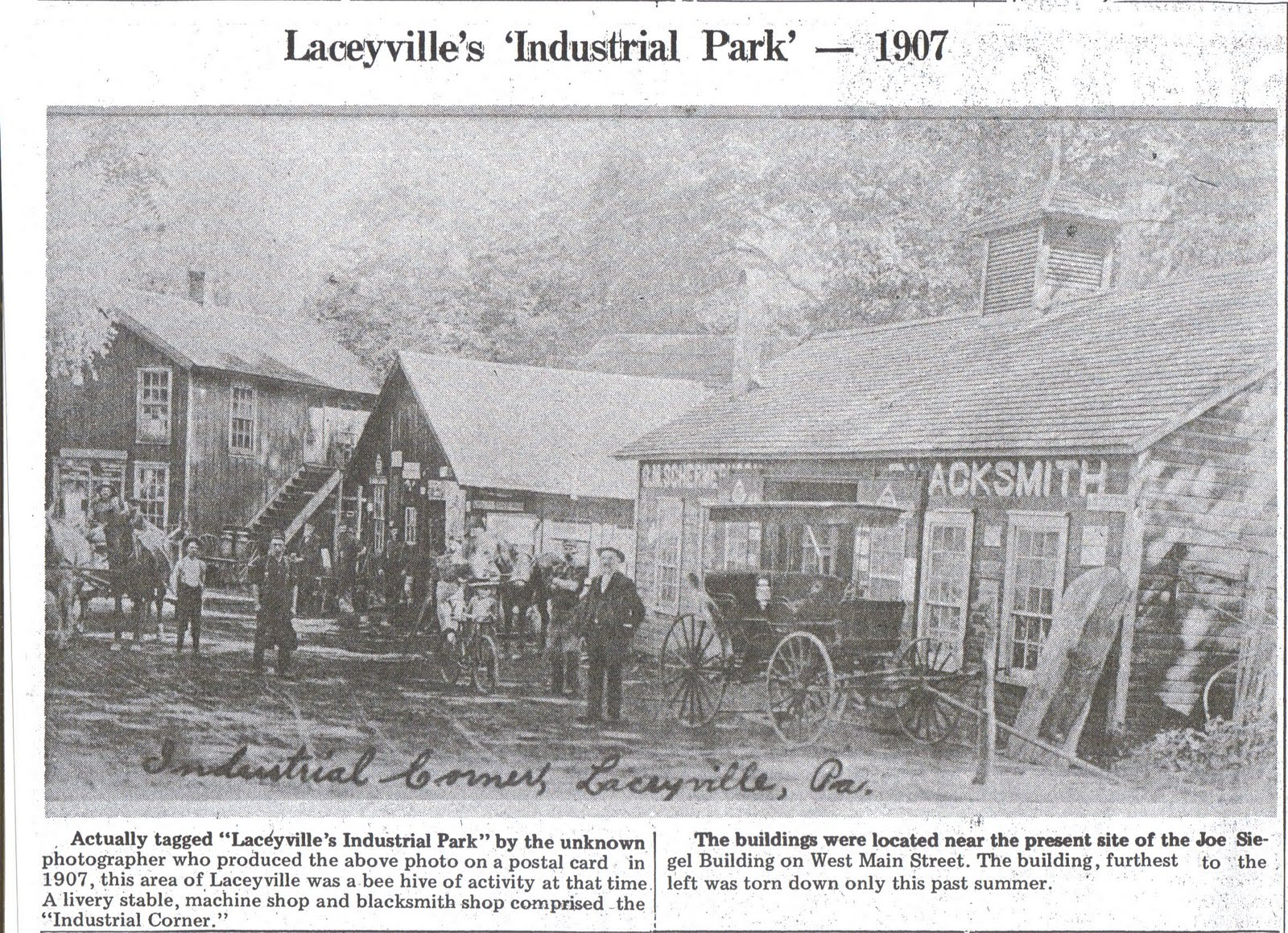 Laceyville Industrial Park