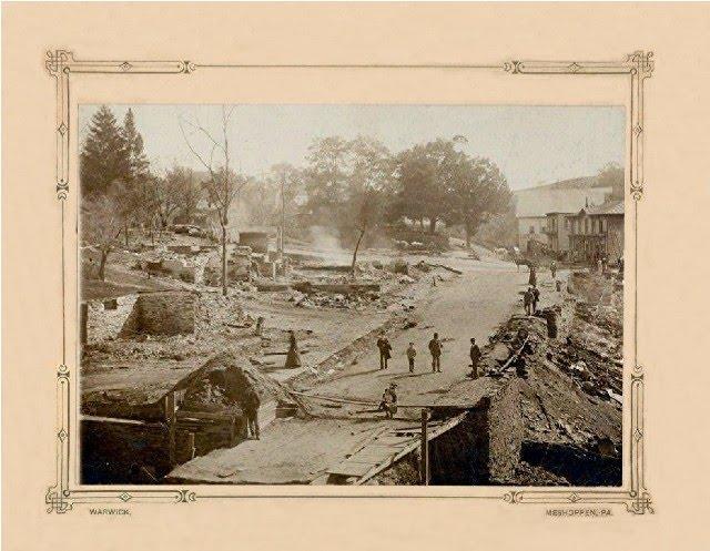 1893 Meshoppen Fire