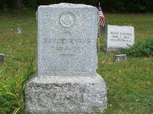 Sam Evans 1848 to 1908