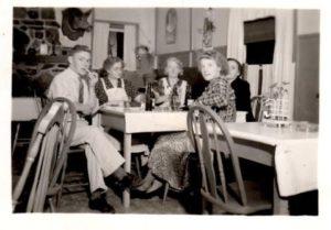 Troster James Trail Inn, Meshoppen PA Circa 1940 to 1943
